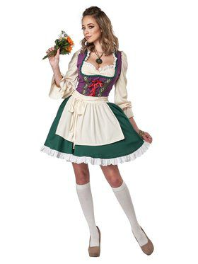 Beer Garden Girl Costume for Women