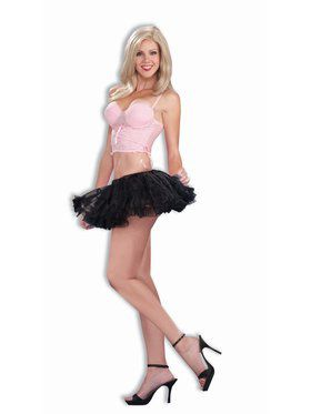 Womens Black 10 Petticoat