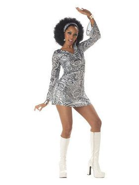 Womens Disco Diva Costume