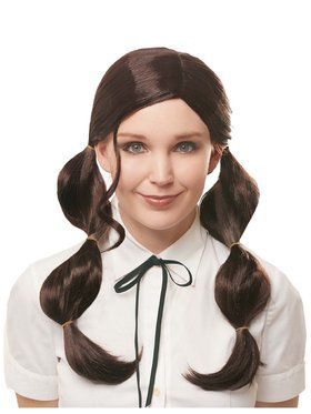 Womens Bubble Pigtails Wig