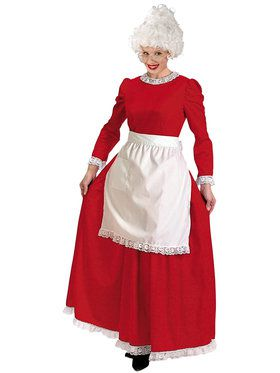 Christmas Charmer Dress With Apron Costu