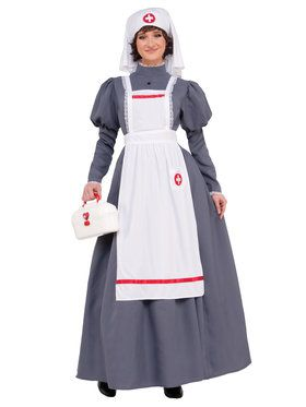 Women's Civil War Nurse Costume