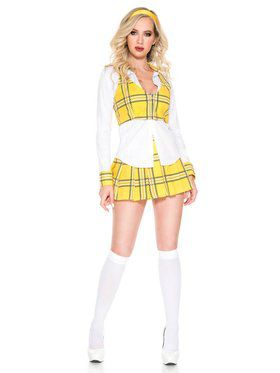 Clueless School Girl Womens Costume