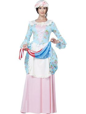 Women's Colonial Lady Betsy Ross Costume
