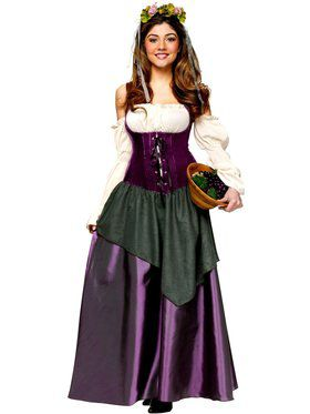 Womens Corset Tavern Wench Adult Costum