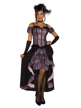 Womens Dance Hall Mistress Costume