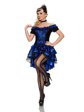 Women's Dance Hall Queen Adult Costume