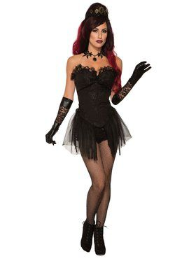 Womens Dark Royalty Corset