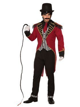Womens Dashing Ringmaster Costume