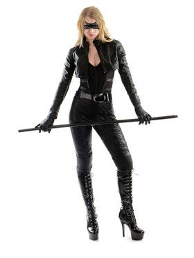 Womens Black Canary Costume