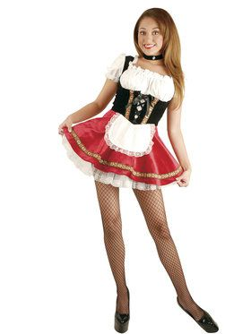Womens Deluxe Beer Garden Girl Costume