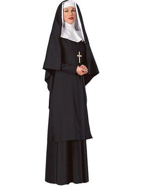 Women's Deluxe Mother Superior Nun Adult Costume