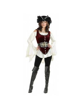 Pirate Lady Deluxe Womens Costume