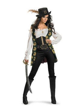 Womens Deluxe Pirates Of The Caribbean A