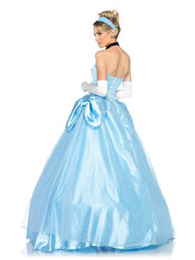 Womens Deluxe Cinderella Ball Gown