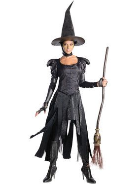 Womens Deluxe Wicked Witch Of The West C