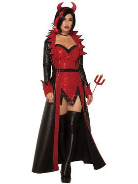 Sexy Devil Women's Costume