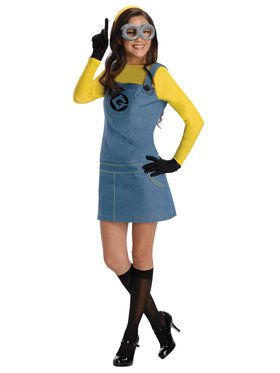 Womens Despciable Me Minion Costume