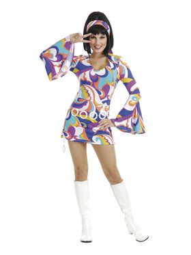 Women's Disco Hottie Costume