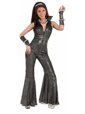 Womens Disco Jumpsuit