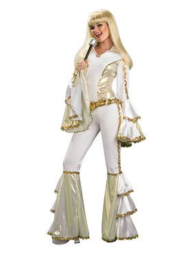 Womens Disco Queen Costume