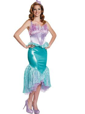 Disney The Little Mermaid - Womens Ariel Costume