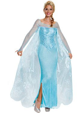 Prestige Elsa Disney Frozen Womens Costume