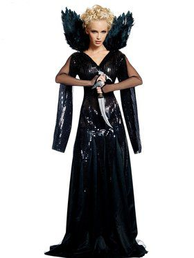 Womens Dlx Queen Ravenna Adult Costume