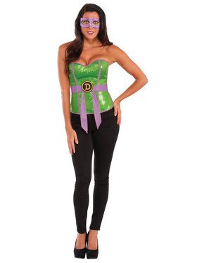 Women's Donatello Sequin Corset