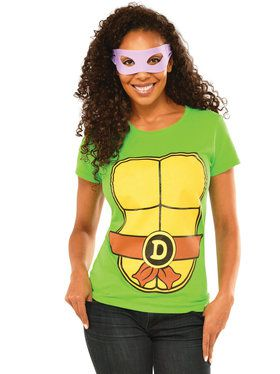 Women's Donatello Shirt and Eye Mask