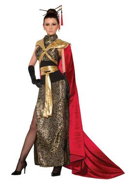Women's Dragon Empress Costume