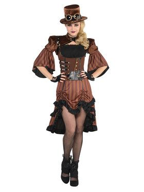 Dream Steamy Womenu0027s Costume  sc 1 st  BuyCostumes.com & Steampunk Costumes - Adults and Kids Halloween Costumes ...