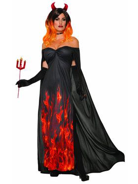 Womens Elegant Devil Costume