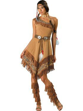 Womens Elite Indian Maiden Costume