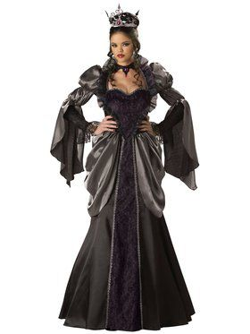 Womens Elite Wicked Queen Costume
