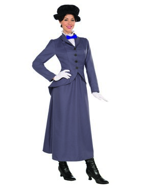 Women's English Nanny Costume