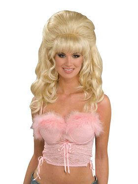 Women's Flirty Fantasy Blonde Wig