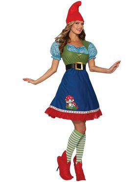 Womens Flora The Gnome Costume