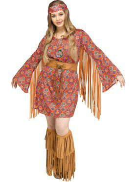 Hippie Free Spirit Womens Costume