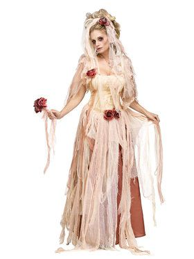 Women's Ghostly Bride Costume