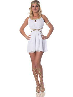 Women's Grecian Goddess Adult Costume