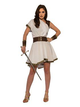 Women's Greek Warrior Adult Costume