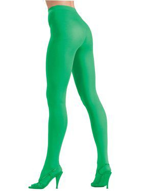 Womens Green Tights
