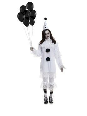 Women's Heartbroken Clown Adult Costume