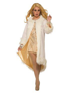 Hollywood Faux Fur Coat For Women