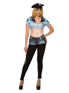 Womens Hot Pursuit Cop Costume