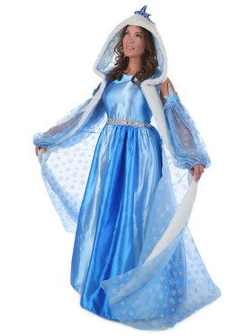 Womens Icelyn Winter Princess Costume