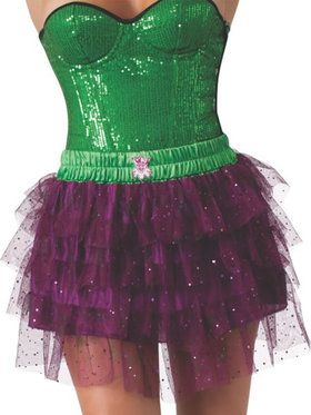 Women's Joker Skirt with Sequins