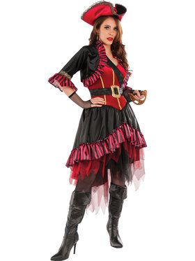 Womens Lady Buccaneer Costume