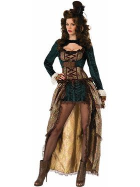 Women's Madame Steampunk Costume